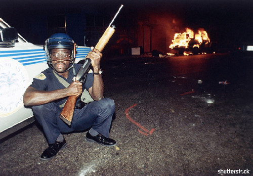 Incredible Moments from Super Bowl History, In Pictures — Miami Riots