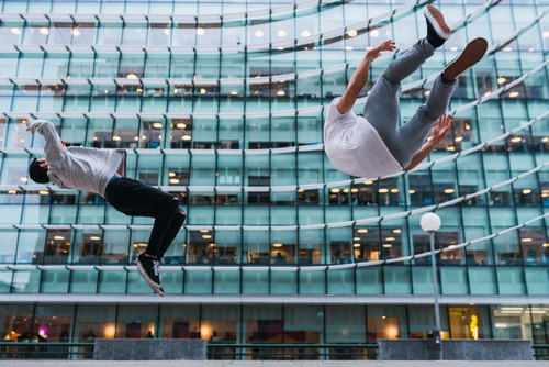 January Fresh: New Content We Love — Offset - Parkour Men