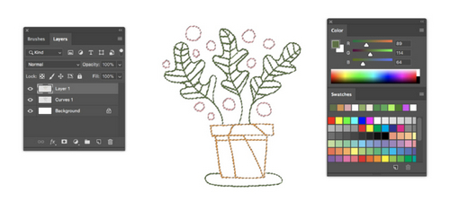 Turn a Sketch into Digital Art with This Complete Guide — Brush Tool