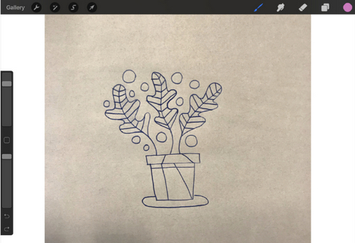 Turn a Sketch into Digital Art with This Complete Guide — Select from Camera Roll