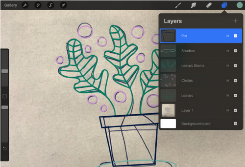 Turn a Sketch into Digital Art with This Complete Guide — Layers Tab