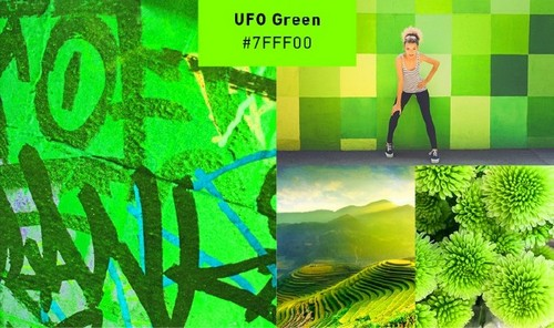 Use 2019's Most Popular Colors in Your On-Trend Designs — UFO Green