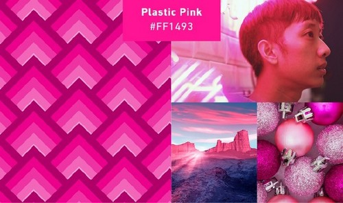 Use 2019's Most Popular Colors in Your On-Trend Designs — Plastic Pink