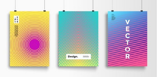 Use 2019's Most Popular Colors in Your On-Trend Designs — Trippy Poster Layout