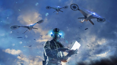 DARPA's OFFSET program will utilize tactical combat drone swarms