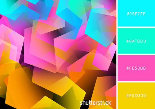 5 Design Trends to Get You Started in the World of Zines – Neon Color Palettes