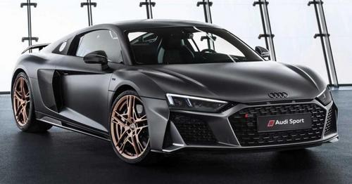 Audi R8 V10 Decennium Promo