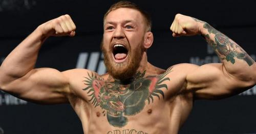 Conor McGregor, calm, cool-headed citizen.