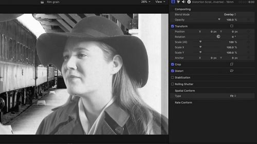 How to Use Film Grains + 5 FREE Film Grain Overlays — Final Cut Pro X
