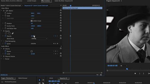 How to Use Film Grains + 5 FREE Film Grain Overlays — Adobe Premiere