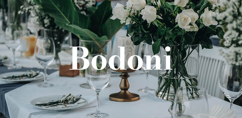 Wedding Ideas: 18 Free and Unique Wedding Fonts for Invitations — Bodoni