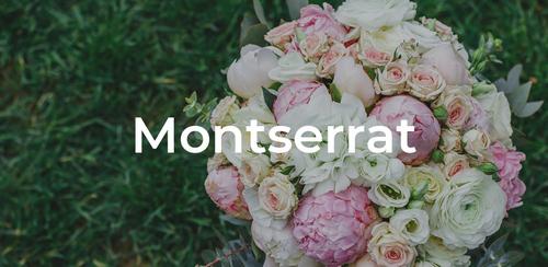 Wedding Ideas: 18 Free and Unique Wedding Fonts for Invitations — Montserrat