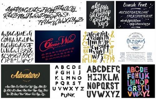 free brush script fonts