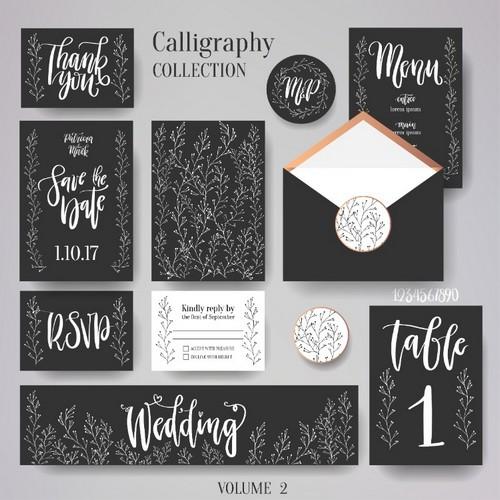 free brush script fonts lyric wedding stationery