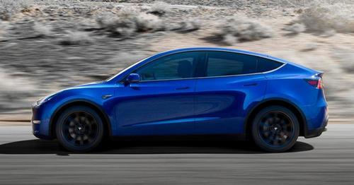 Tesla Model Y Promo