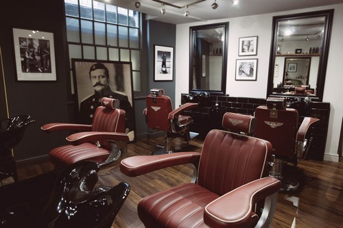 A full-experience barbershop, Pankhurst London offers clients access to a speakeasy, a gentlemen's club and luxury grooming all under one roof. If you're able to afford an appointment, you'll be styled to perfection while lounging in the custom-made, Bentley-upholstered barber's chairs.