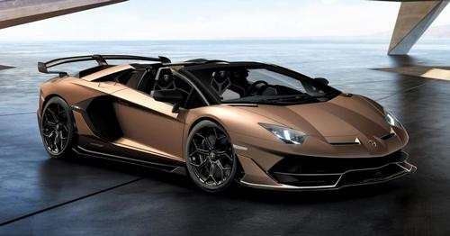 Lamborghini Aventador SVJ Roadster Promo