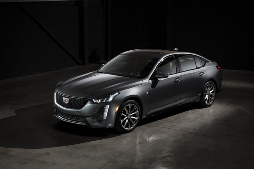 The Cadillac CT5 Sport.