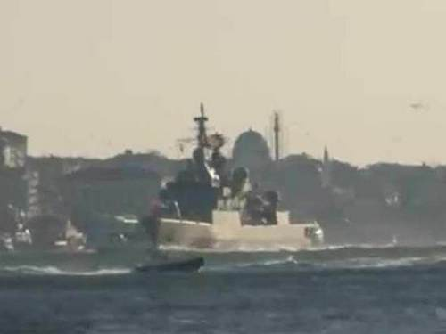 NATO frigates in the Black Sea will be held under the gun