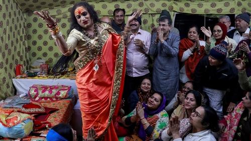 Hindu Kumbh festival in India