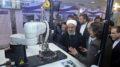 Iran slams 'genocidal taunts' by US, increases uranium stockpiles