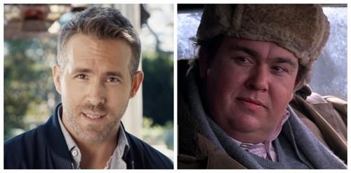 """Ryan Reynolds; John Candy in """"Uncle Buck"""""""