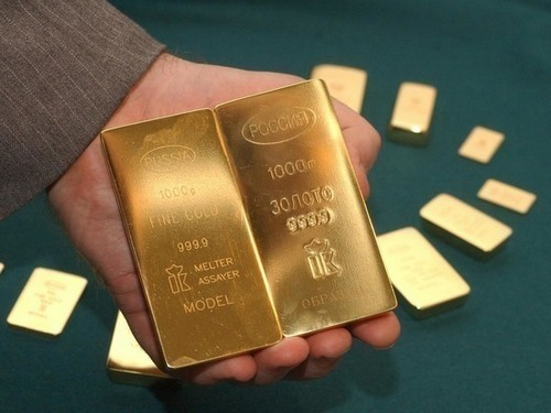 Russia bought the most gold in the world, reducing dependence on the dollar