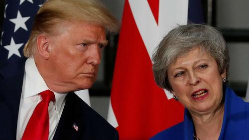 After backlash, Trump u-turns on UK health service in trade talks