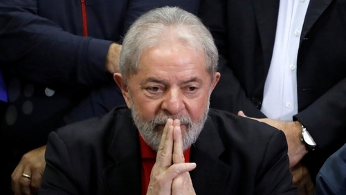 Brazil Supreme Court rejects request to free ex-president Lula