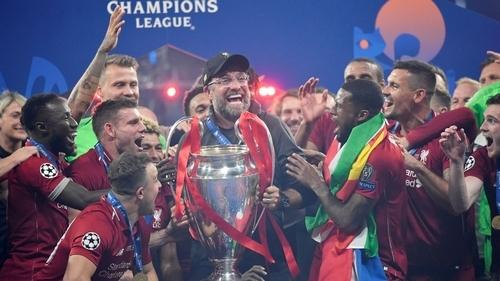 Liverpool beat Tottenham Hotspur to win Champions League trophy