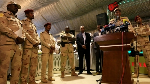 Sudan's military blames protesters for deadly crackdown
