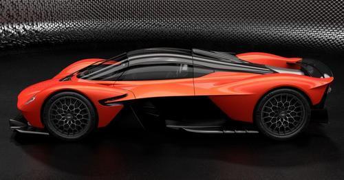 Aston Martin Valkyrie Hybrid Promo