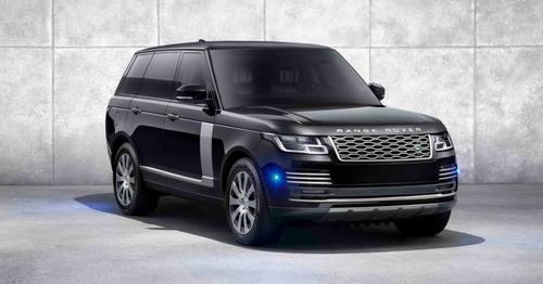 Armored Range Rover Sentinel Promo