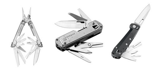Leatherman FREE P, T, and K