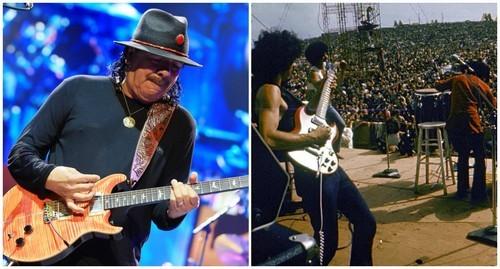 Carlos Santana will return to the Woodstock stage once again.
