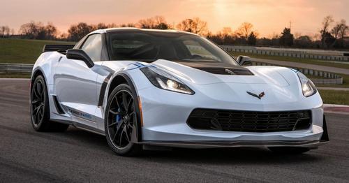 The Corvette Z06 Carbon 65 Edition.