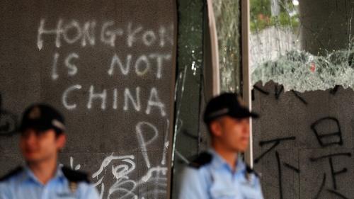 China warns UK's foreign secretary over Hong Kong remarks