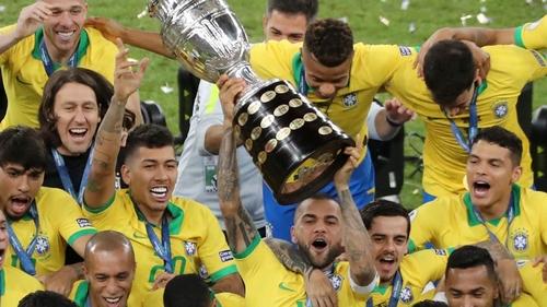 Brazil beat Peru 3-1 to lift the title