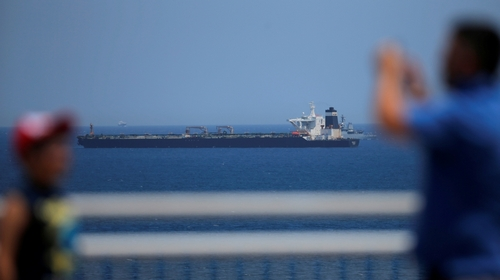 Iran demands UK release of oil tanker held in Gibraltar