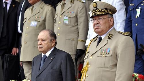 Algeria army chief renews call for polls
