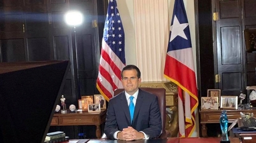 Puerto Rico governor announces resignation after mass protests