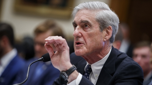 Former Special Counsel Robert Mueller testifies before the House Intelligence Committee during a much-anticipated hearing about Russian interference into the 2016 election, and possible efforts by Pr