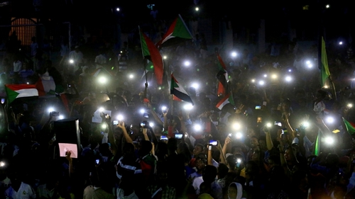Sudanese stage night protests following killing of civilian
