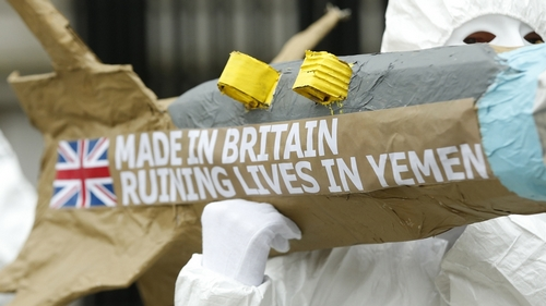 UK says 2018 was 'best year ever' for arms exports