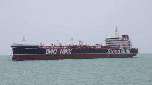 UK says tanker seizure shows Iran choosing 'dangerous path'
