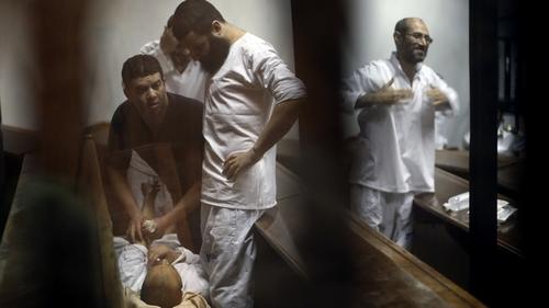 Egypt prisoners