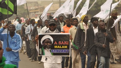 Nigerian Shia leader, wife depart for medical treatment in India
