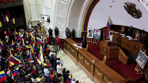 Opposition warns against plan to dissolve Venezuela parliament