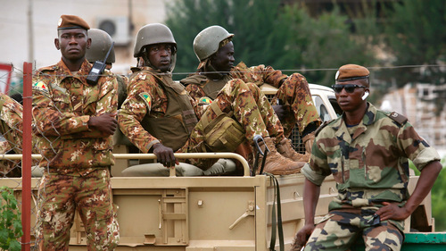 A multitude of troops killed, scores deleted after raids on Mali bases