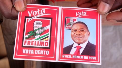 Nyusi wins Mozambique presidential vote in landslide